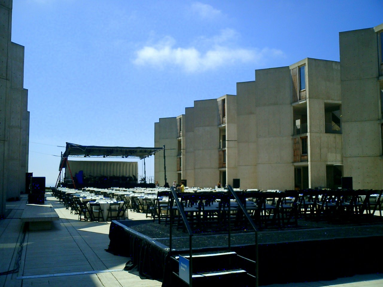 Famous Salk Institute summer concert
