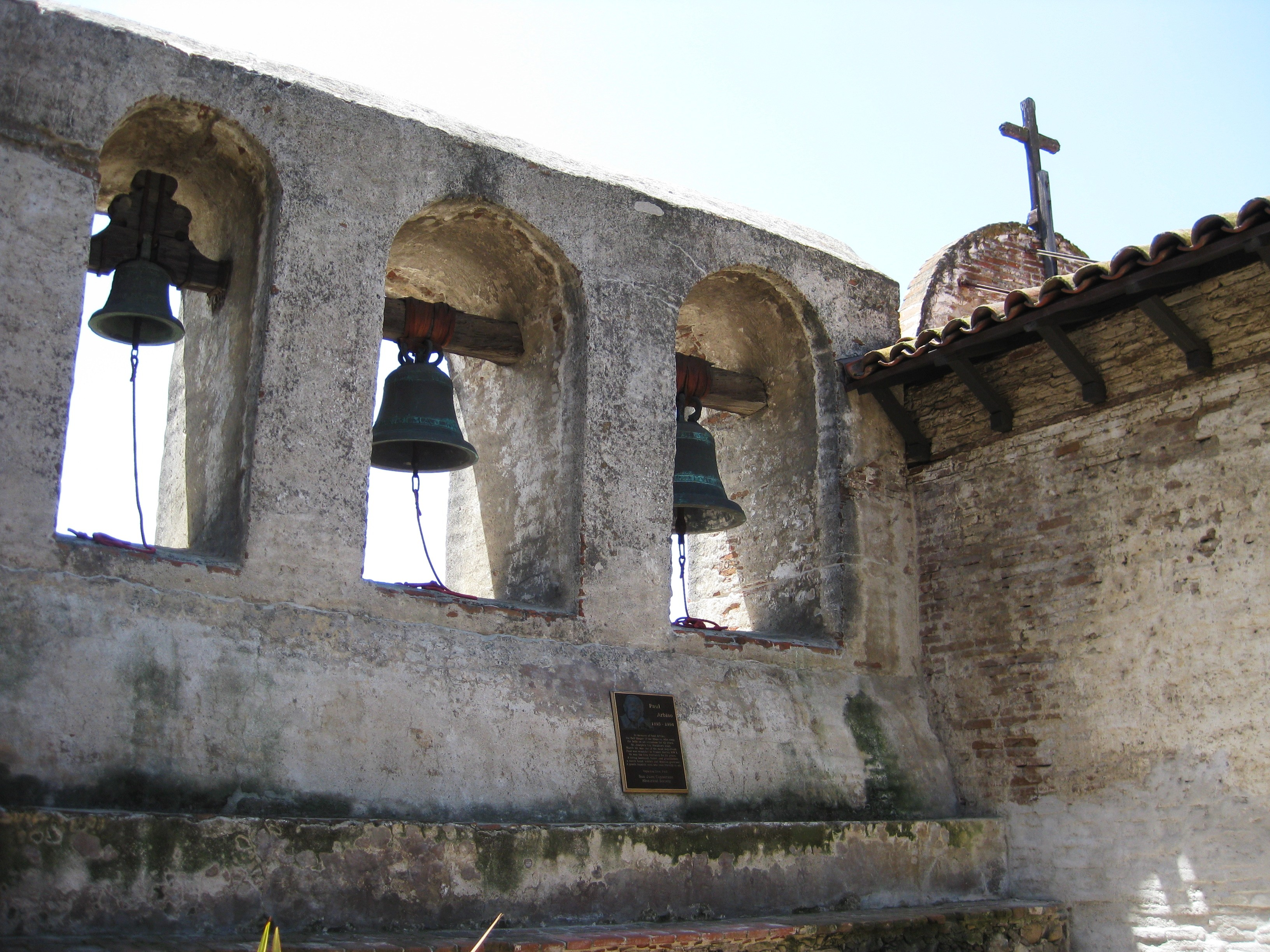 The old Mission bells